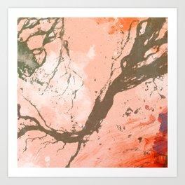Creeping Vines Art Print