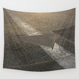 concrete sunshine triangle arrow Wall Tapestry