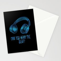Can you hear the  beat? Stationery Cards