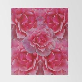 Rose Divine Throw Blanket