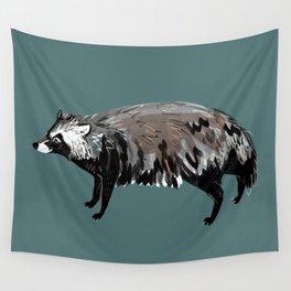 Raccoon dog #1 Wall Tapestry