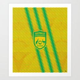 Australia Football Art Print