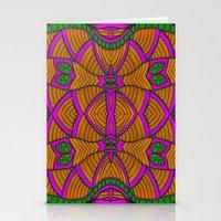 velvet underground Stationery Cards featuring Underground by Kimberly McGuiness