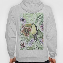 TOUCAN IN THE JUNGLE Hoody