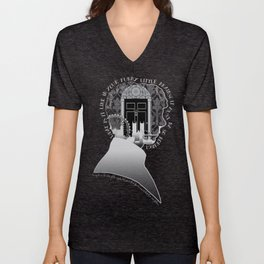 What is it Like in Your Funny Little Brains? Unisex V-Neck
