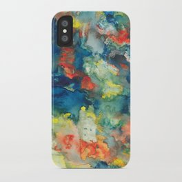 Mindscapes: Did you get hit by a bus or just have a baby? iPhone Case