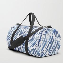 Boho Blue Brushstroke Duffle Bag