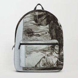 Édouard Manet - The Gypsies (Les Gitanos) Backpack