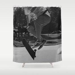 Varial Kickflip Shower Curtain
