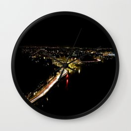View from Clifton Suspension Bridge Wall Clock