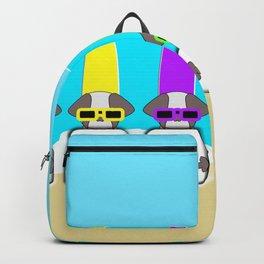 Shih Tzu Surf Jersey Backpack