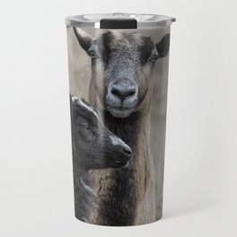 Black Goat and Barbados Blackbelly Sheep, No. 2 Travel Mug
