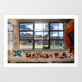 Capitalism Kills Art Print