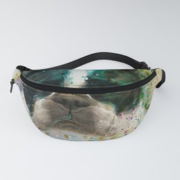 Paint It Frenchie Fanny Pack