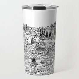 Albaicin View from the Alhambra, Granada, Spain Travel Mug