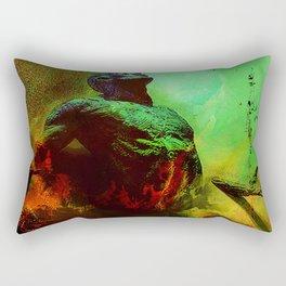 Soul in the purgatory Rectangular Pillow