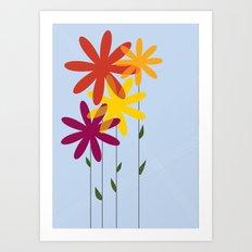 flowers 1-01 Art Print