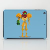 samus iPad Cases featuring Samus by GregSuj