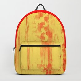 Gerhard Richter Inspired Abstract Urban Rain 3 Backpack
