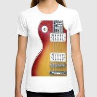 les mis T-shirts featuring Les Paul by Brian Raggatt