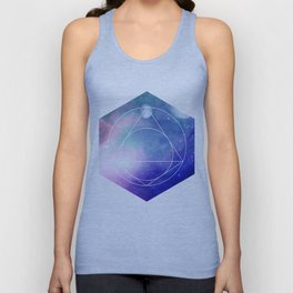 Nightsky Heaxgon Unisex Tank Top