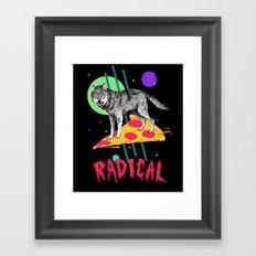 So Radical Framed Art Print
