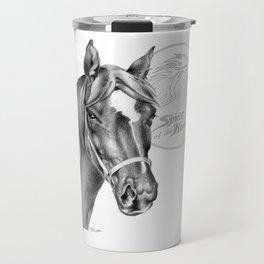 Barney the Hunter: Spirit of the Horse Travel Mug