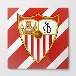 Sevilla FC Metal Print