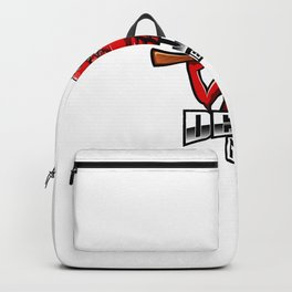 Devil Gunners Esport Mascot Logo Backpack