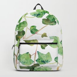 English Ivy Pattern Backpack