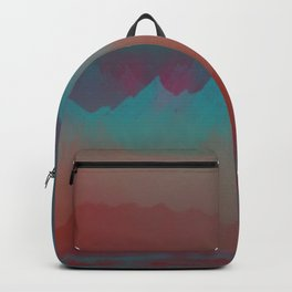 Ombre Mountainscape (Sunset Colors) Backpack