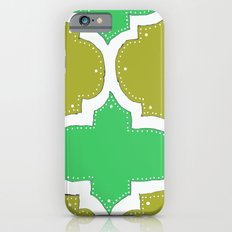 Morocco Gold & Green iPhone 6s Slim Case