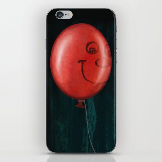 The Boy and the Balloon iPhone & iPod Skin