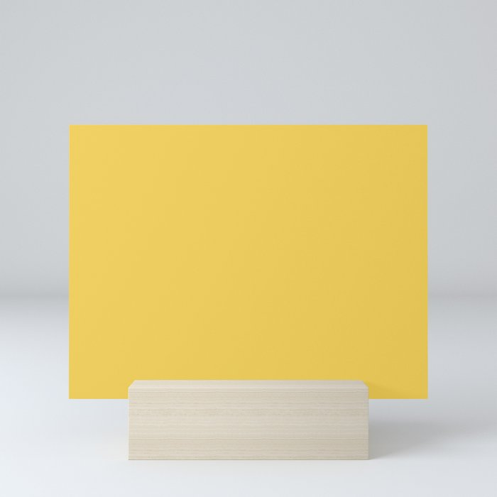Primrose Yellow | Pantone Fashion Color Spring : Summer 2017 | Solid Color Mini Art Print