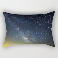 Milky Way bokeh Rectangular Pillow