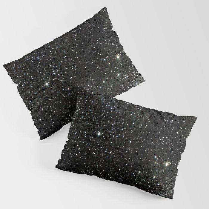 Space - Stars - Starry Night - Black - Universe - Deep Space Kissenbezug