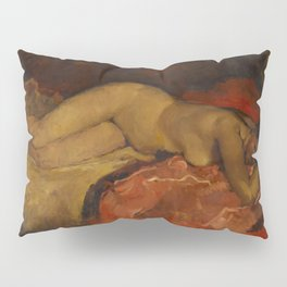 Reclining nude by George Hendrik Breitner Pillow Sham