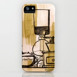 Afternoon Coffee iPhone Case