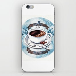 Coffee To The Rescue iPhone Skin
