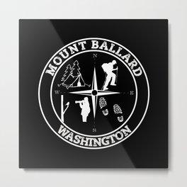 MOUNT BALLARD Metal Print