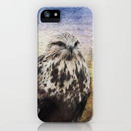 Found Somewhere Between - Bird Art iPhone Case