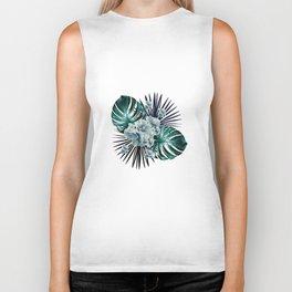 Tropical Jungle Bouquet #1 #tropical #decor #art #society6 Biker Tank