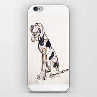 best friend iPhone & iPod Skins featuring Best Friend by Amanda Vieira