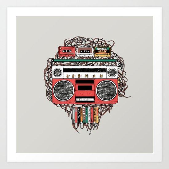 Radioinactive Art Print