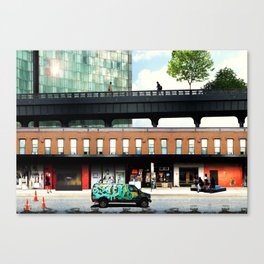 High life at the Standard - New York Canvas Print