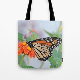 The Monarch Has An Angle Tote Bag
