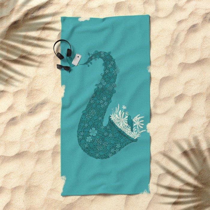 Song Birds Beach Towel