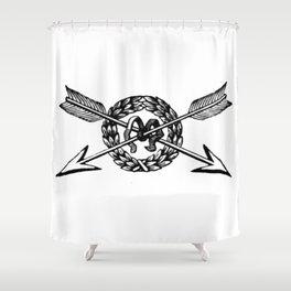 Arrows 2 Shower Curtain