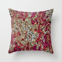 PSYCH WEAVE - C5 Throw Pillow