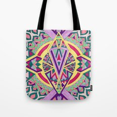 Abstract Journey Tote Bag